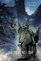 Постеры фильма «День независимости: Возрождение»