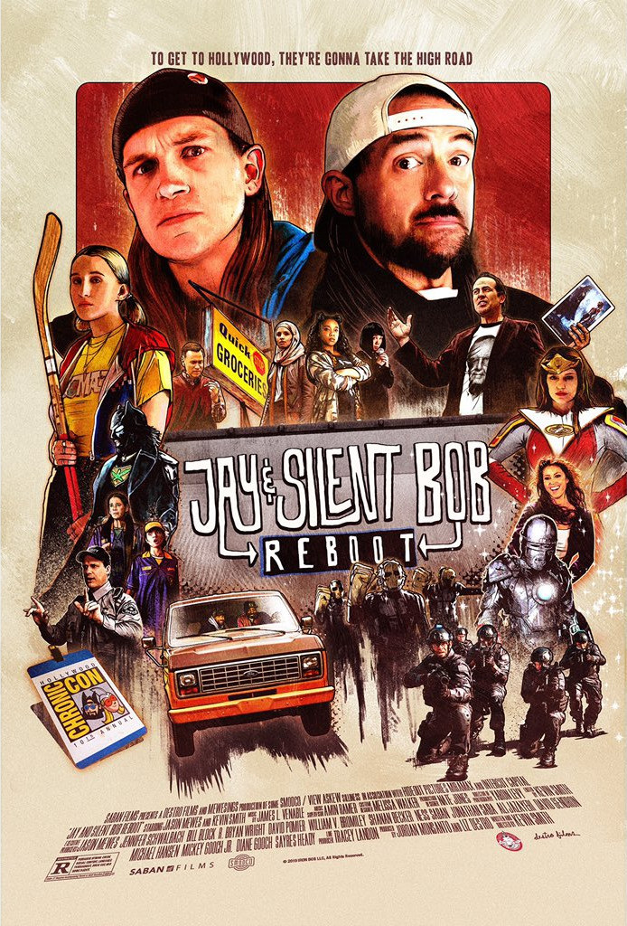 Джей и Молчаливый Боб: Перезагрузка, постер № 1