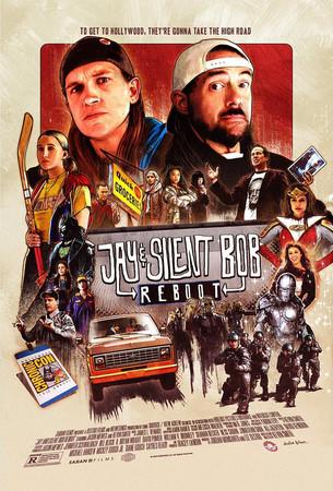 Постеры фильма «Джей и Молчаливый Боб: Перезагрузка»