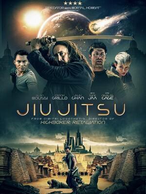 Постеры фильма «Джиу-джитсу: Битва за Землю»