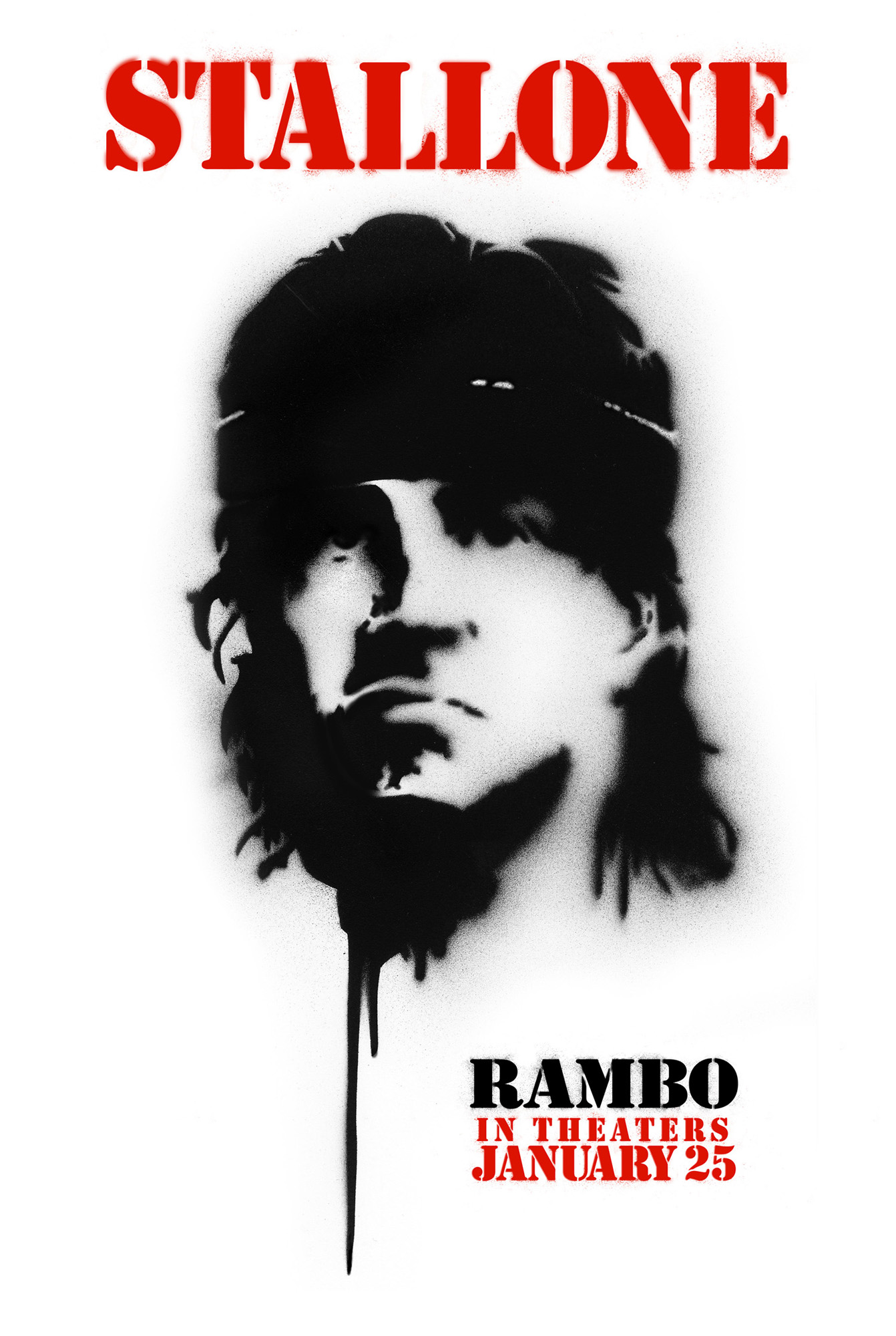 Рэмбо IV, постер № 2