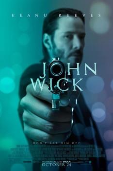 Постеры фильма «Джон Уик»
