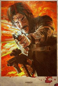 Постеры фильма «Джон Уик 2»