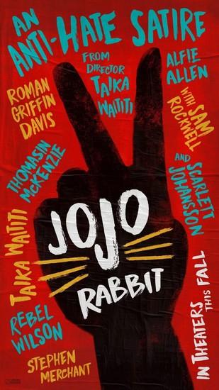 Постеры фильма «Кролик Джоджо»