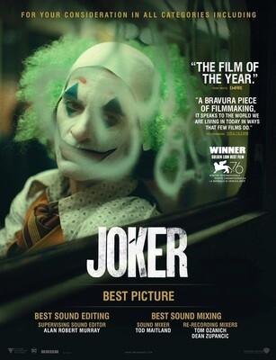 Постеры фильма «Джокер»
