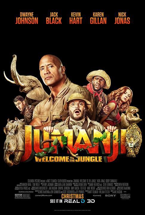 Джуманджи: Зов джунглей, постер № 27