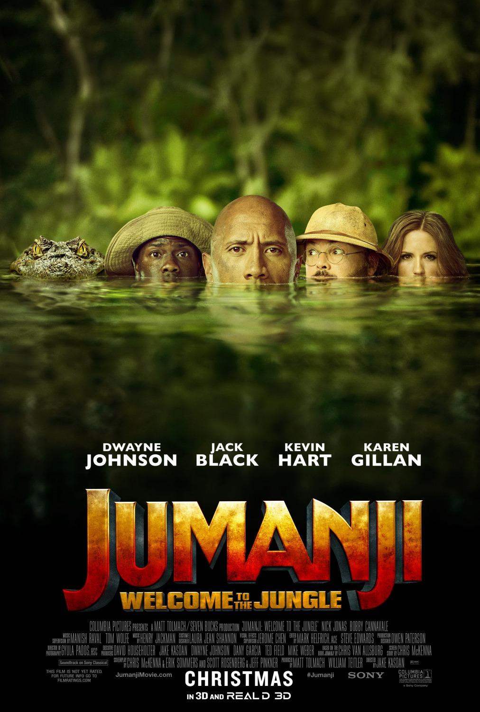 Джуманджи: Зов джунглей, постер № 5