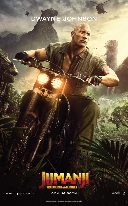 Джуманджи: Зов джунглей, постер № 9