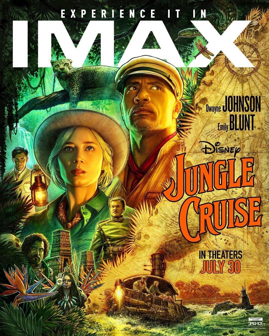 Круиз по джунглям, постер № 26