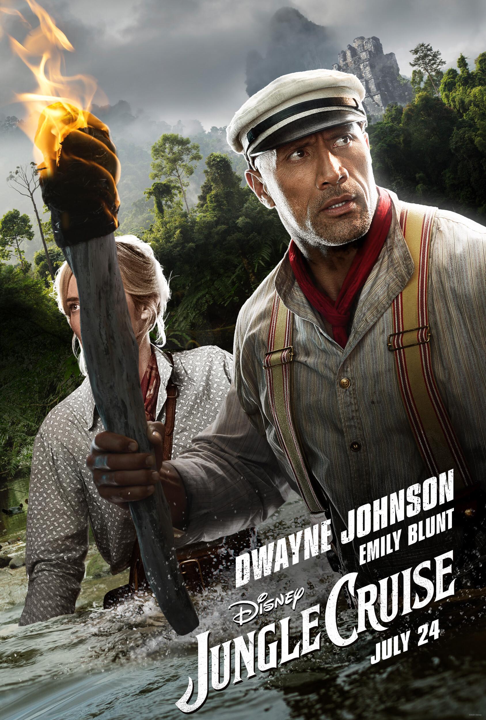 Круиз по джунглям, постер № 3