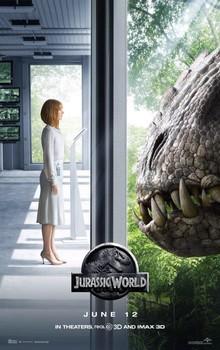 Постеры фильма «Мир Юрского периода»