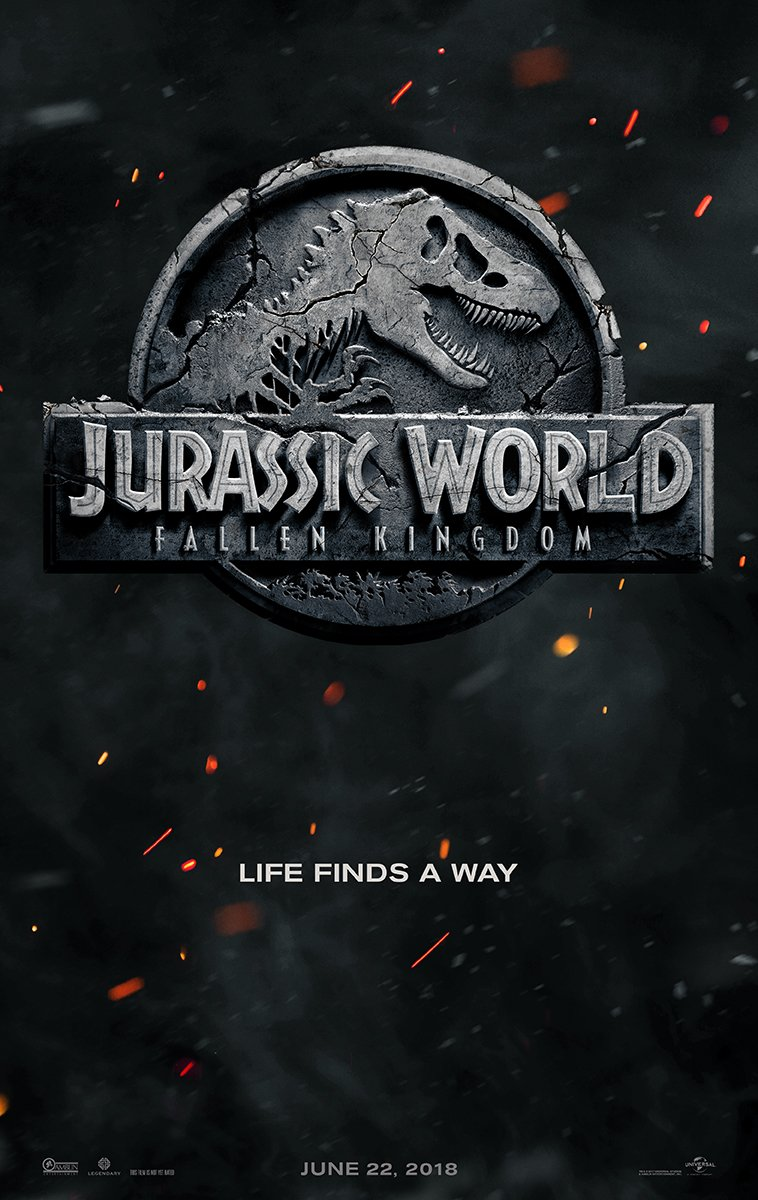 Мир Юрского периода: Падшее царство, постер № 1