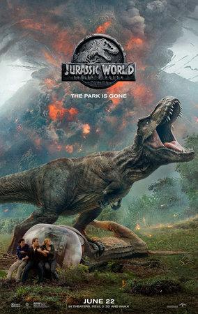 Постеры фильма «Мир Юрского периода 2»