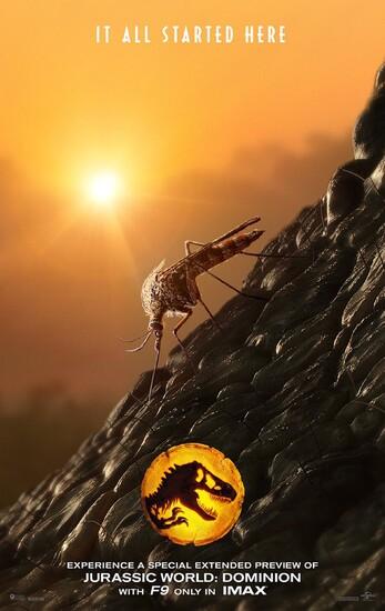 Постеры фильма «Мир Юрского периода: Господство»