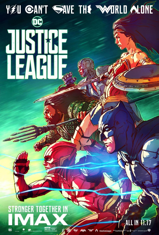 Лига справедливости, постер № 30