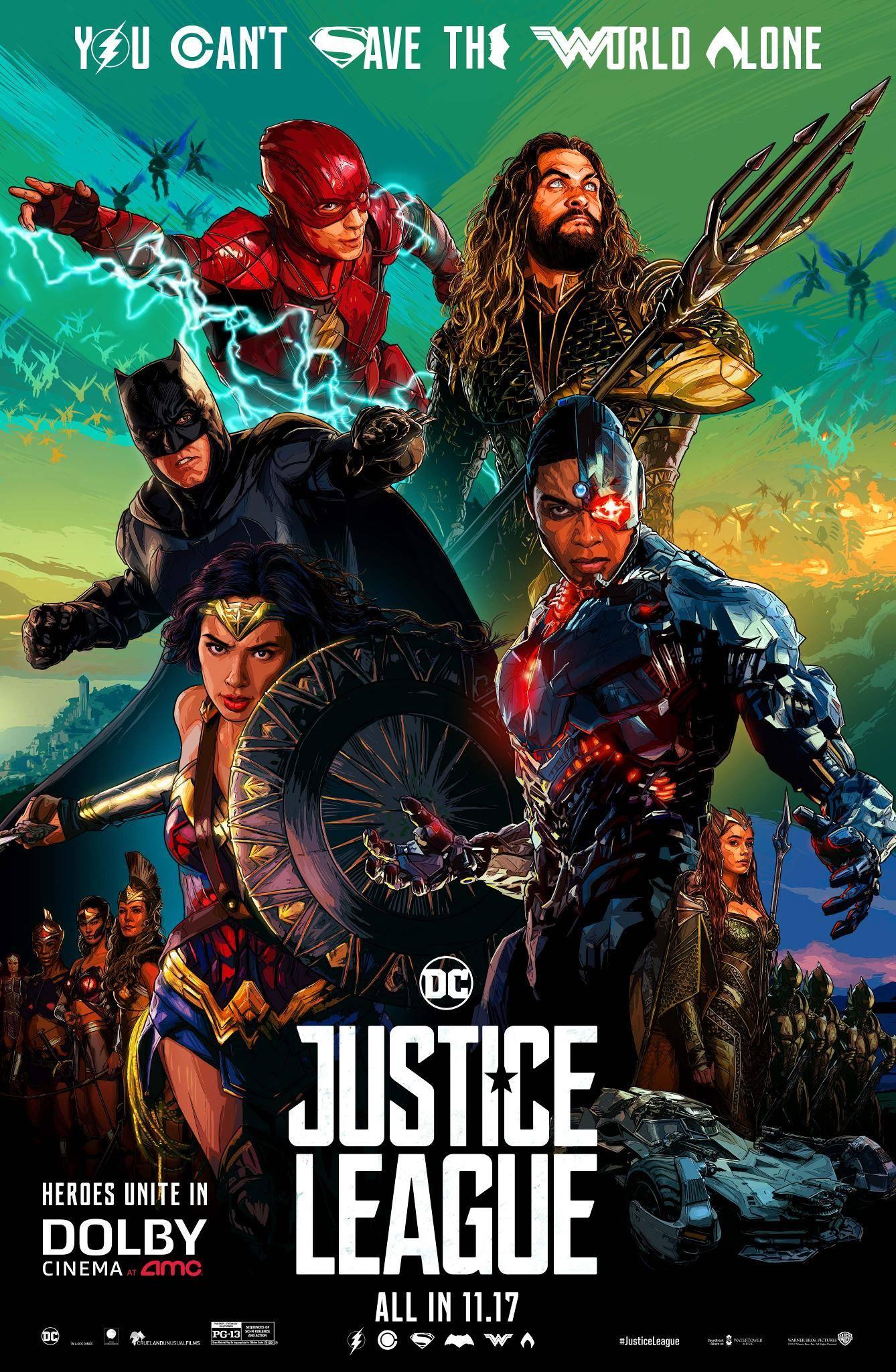 Лига справедливости, постер № 31