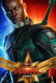Постеры фильма «Капитан Марвел»
