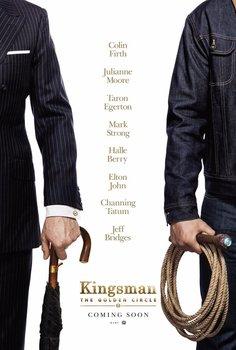 Постеры фильма «Kingsman: Золотое кольцо»