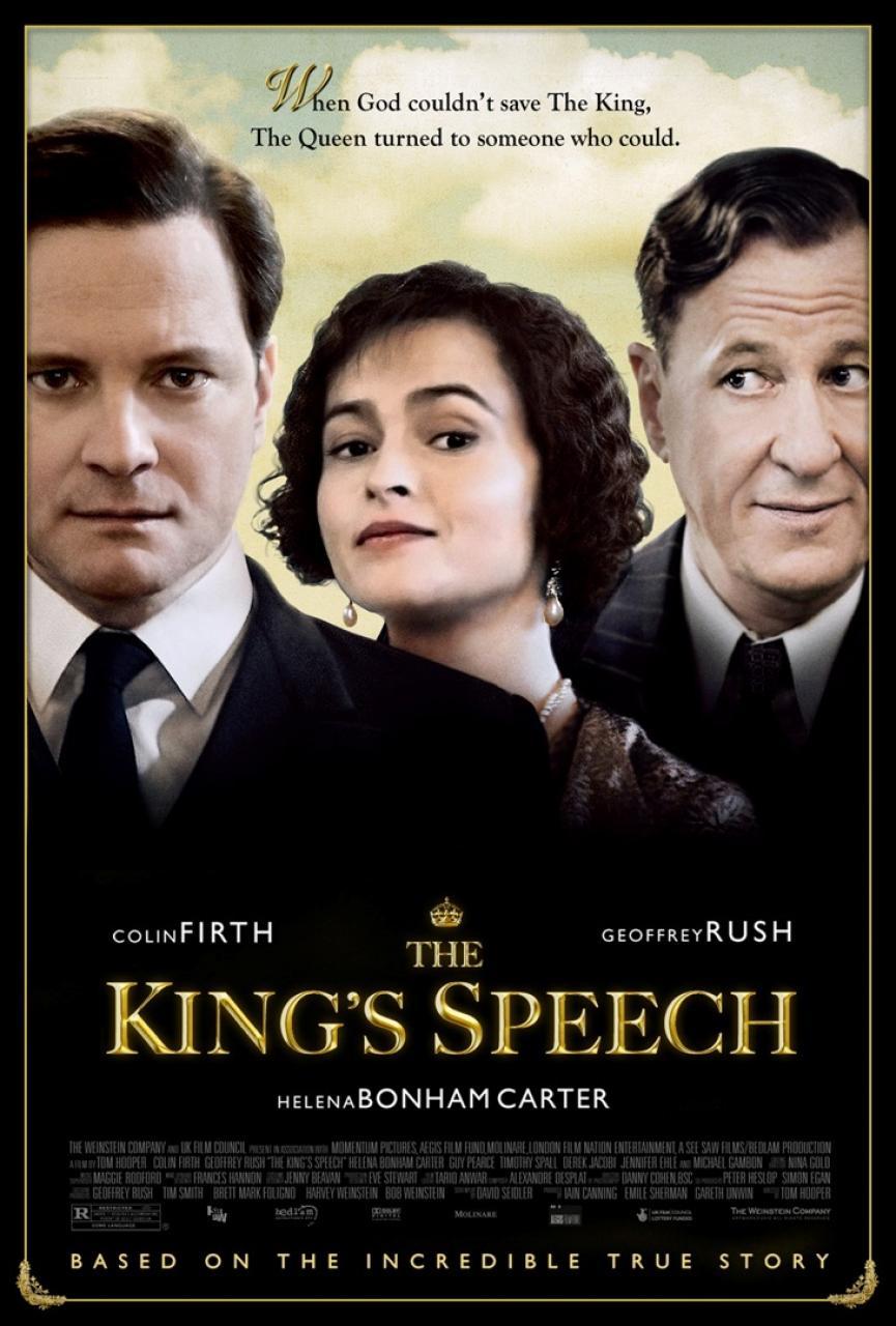 Король говорит!, постер № 1