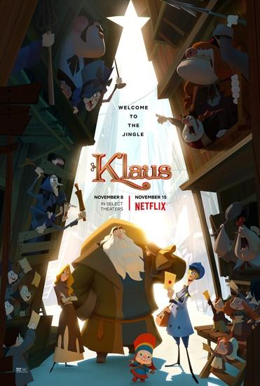Постеры фильма «Клаус»