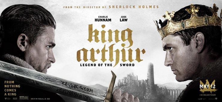 Постеры фильма «Меч короля Артура»