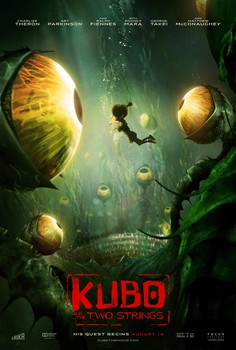 Постеры фильма «Кубо. Легенда о самурае»