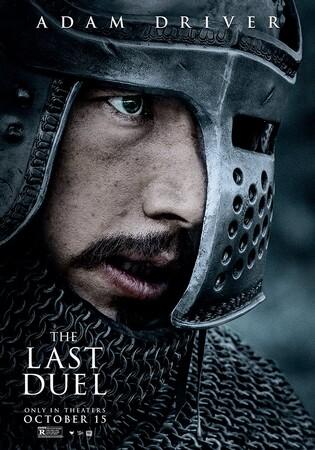 Постеры фильма «Последняя дуэль»