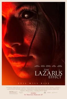 Постеры фильма «Эффект Лазаря»