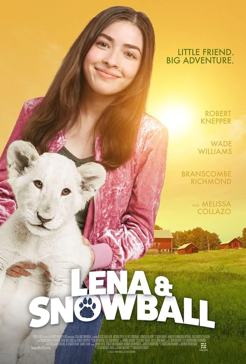 Лена и белый тигр, постер № 1