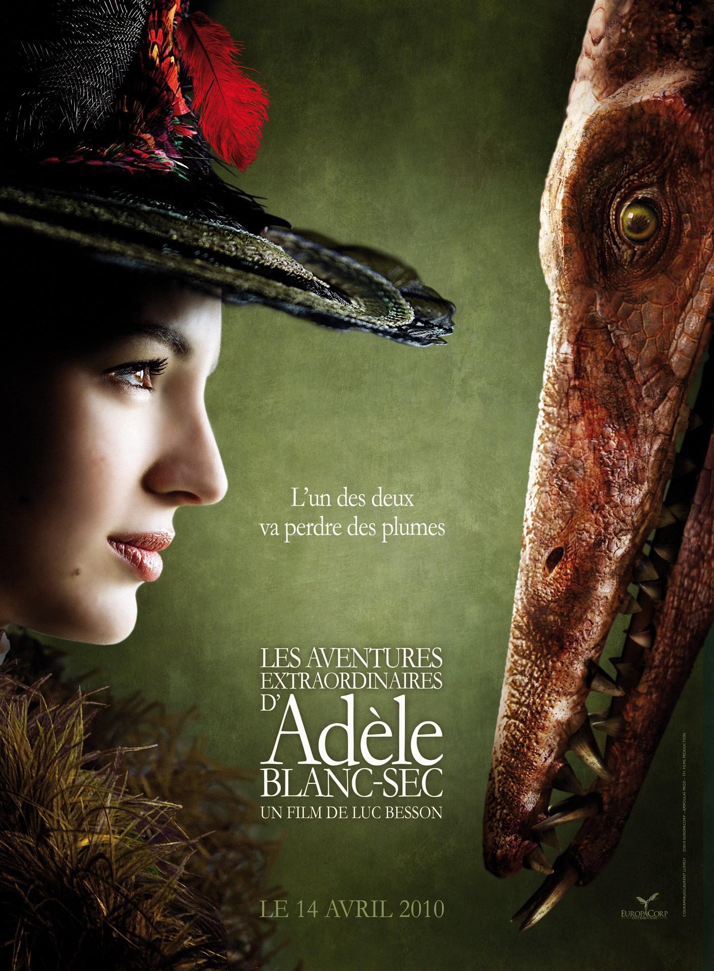 Необычайные приключения Адель DVDRip / 2010.