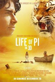 Постеры фильма «Жизнь Пи»
