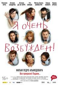Постеры фильма «Я очень возбужден»