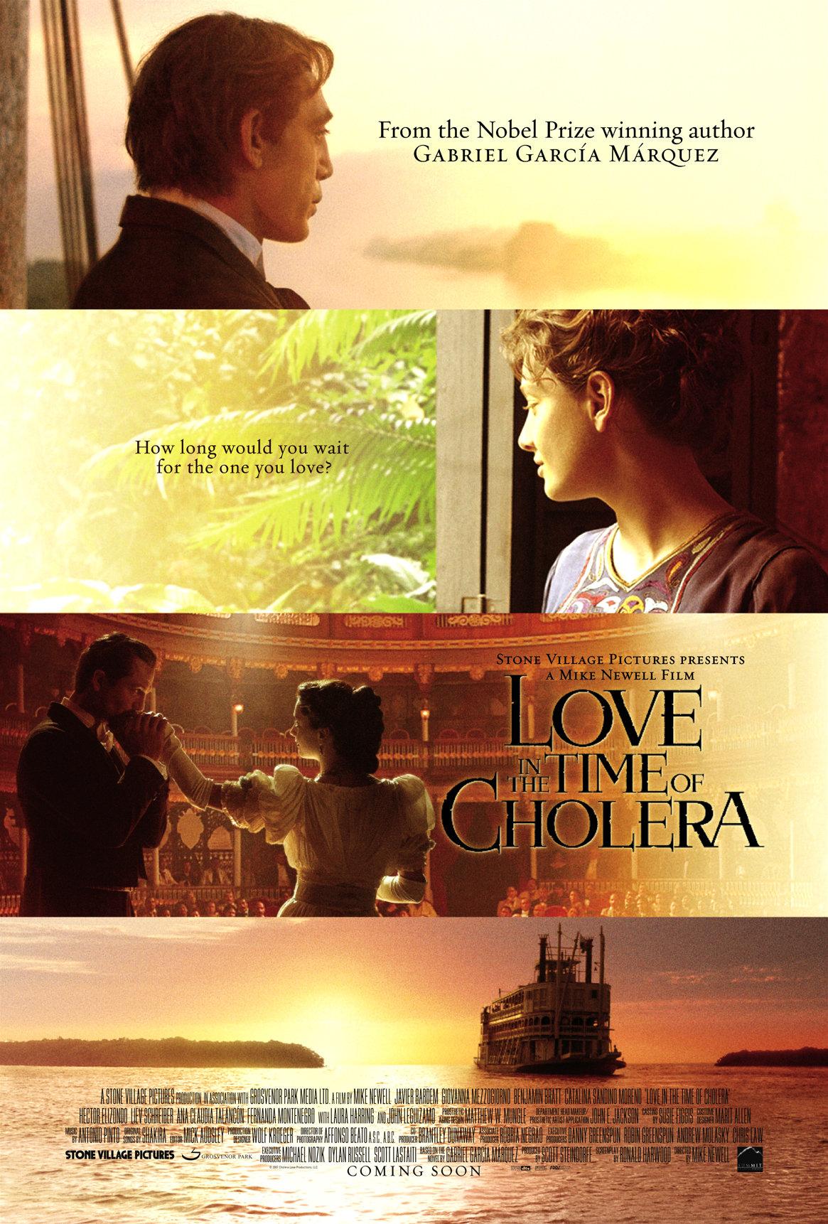 Любовь во время холеры, постер № 2