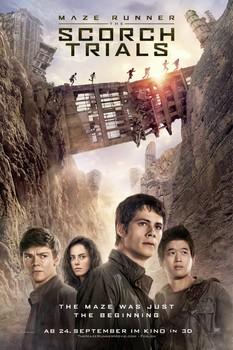 Постеры фильма «Бегущий в лабиринте: Испытание огнём»