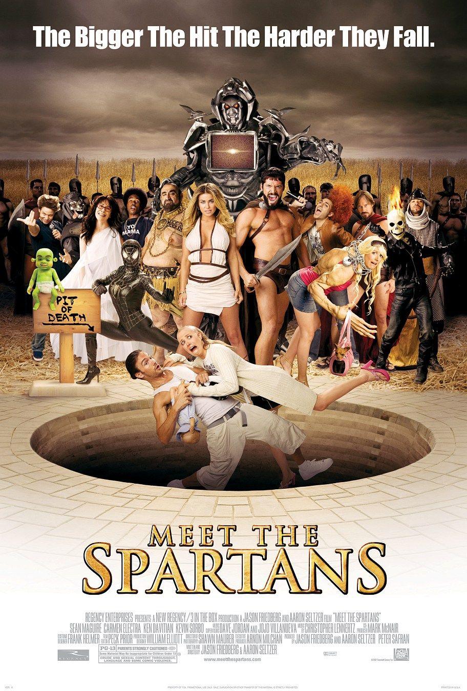 Знакомство со спартанцами, постер № 1