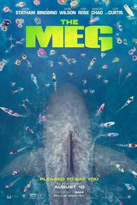 Постеры фильма «Мег: Монстр глубины»