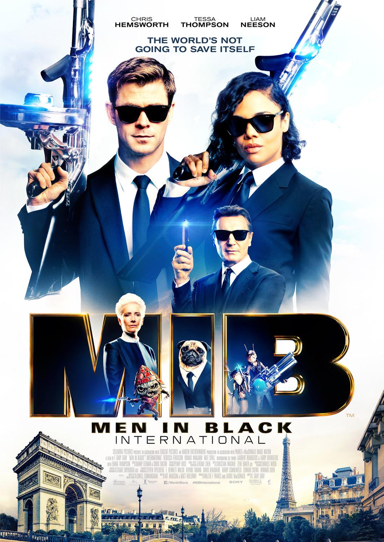 Люди в чёрном: Интернэшнл, постер № 11