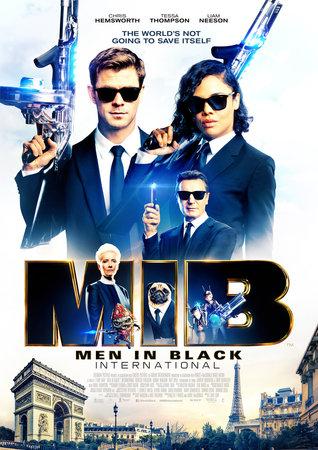 Постеры фильма «Люди в чёрном: Интернэшнл»