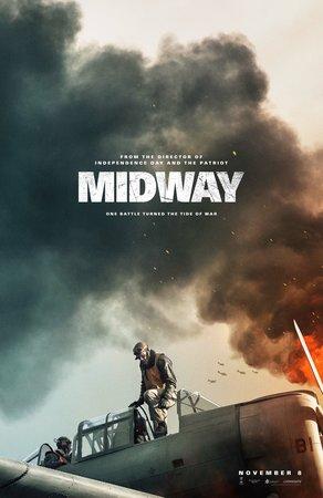 Постеры фильма «Мидуэй»