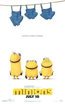 Постеры фильма «Миньоны»
