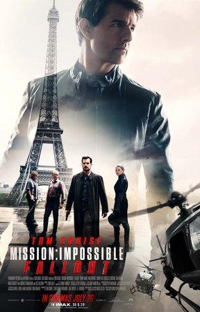 Постеры фильма «Миссия невыполнима: Последствия»
