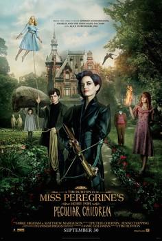 Постеры фильма «Дом странных детей мисс Перегрин»