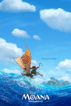Постеры фильма «Моана»