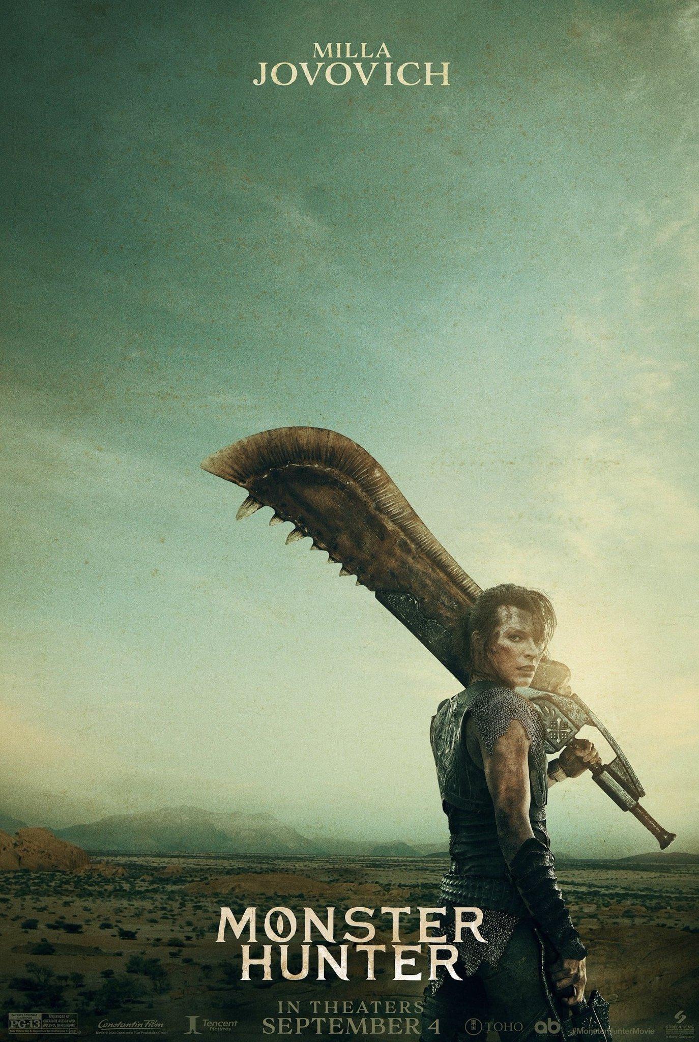 Охотник на монстров, постер № 1