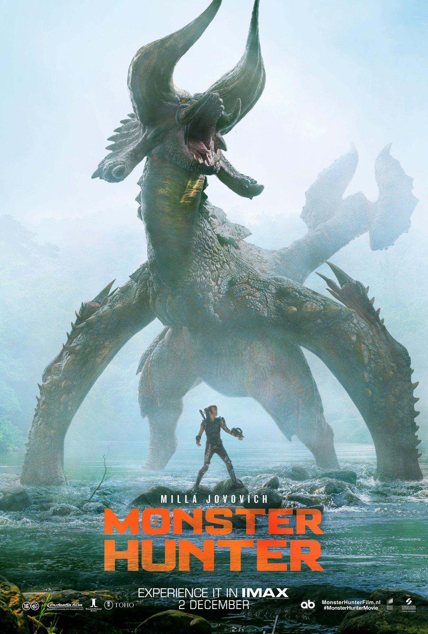 Охотник на монстров, постер № 20