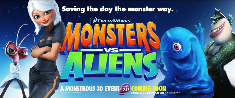 Монстры против Пришельцев, постер № 11