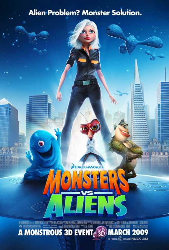 Монстры против Пришельцев, постер № 13