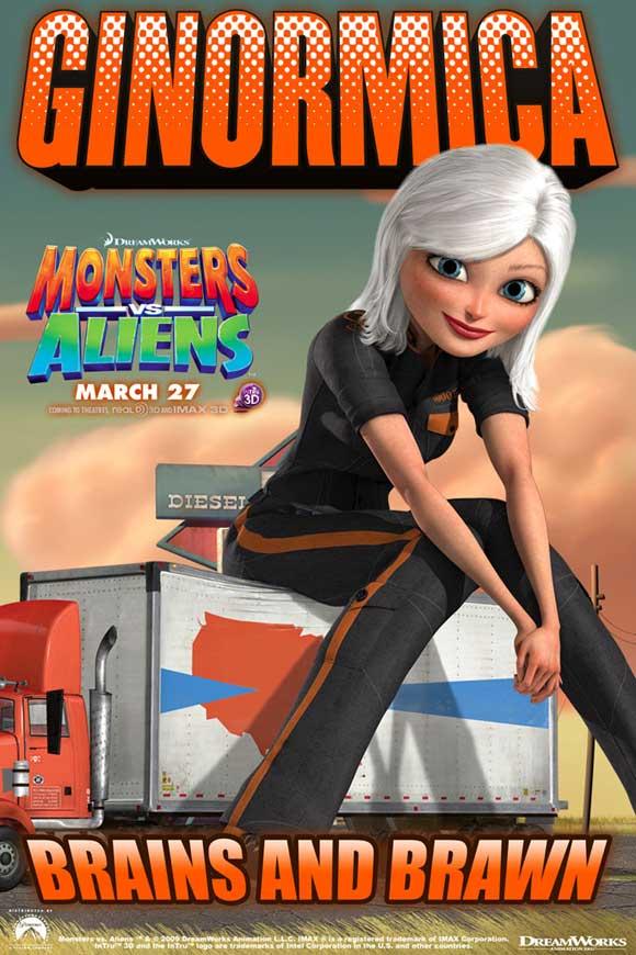 Монстры против Пришельцев, постер № 8