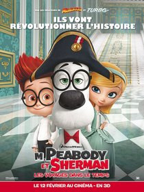 Постеры фильма «Приключения мистера Пибоди и Шермана»