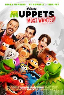 Постеры фильма «Маппеты-2»